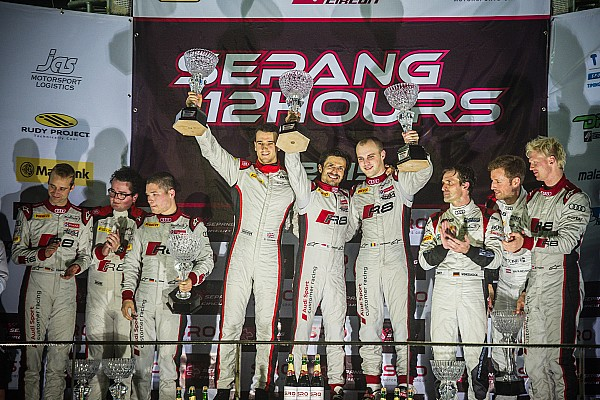 Audi secures 1-2-3 in rain-disrupted Sepang 12 Hours