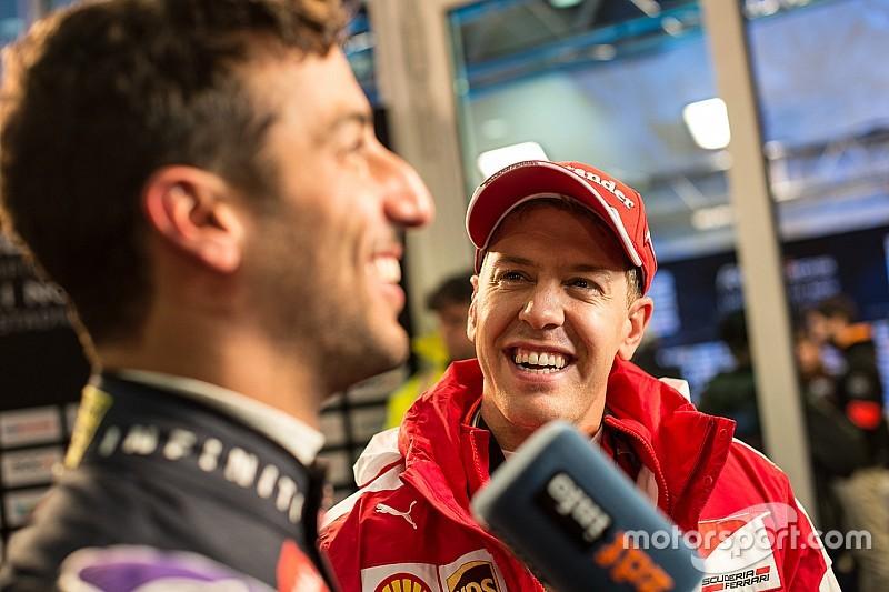 Para Ricciardo, Vettel necesitaba el cambio a Ferrari