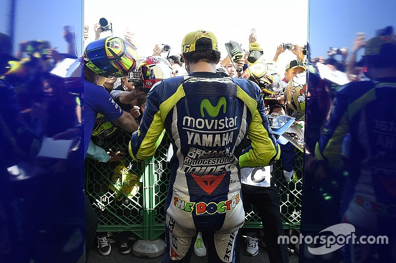 La marque d'habillement de Valentino Rossi liée pour 3 ans à Yamaha