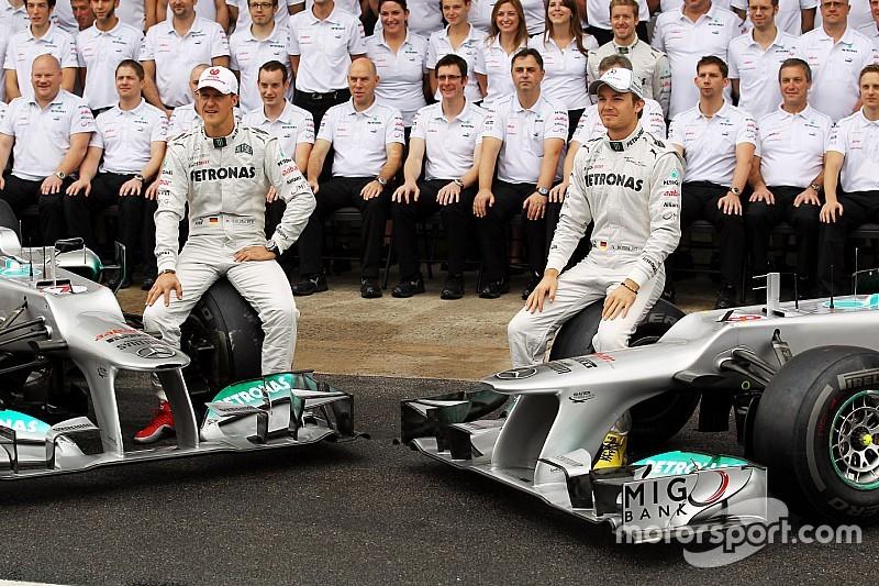 Rosberg: experiência com Schumacher me ajuda com Hamilton