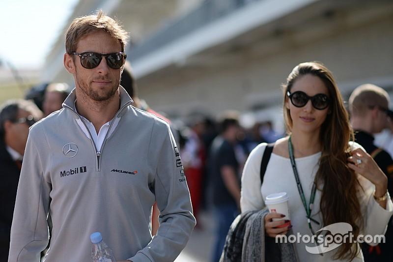 Jenson Button se separa de su esposa Jessica