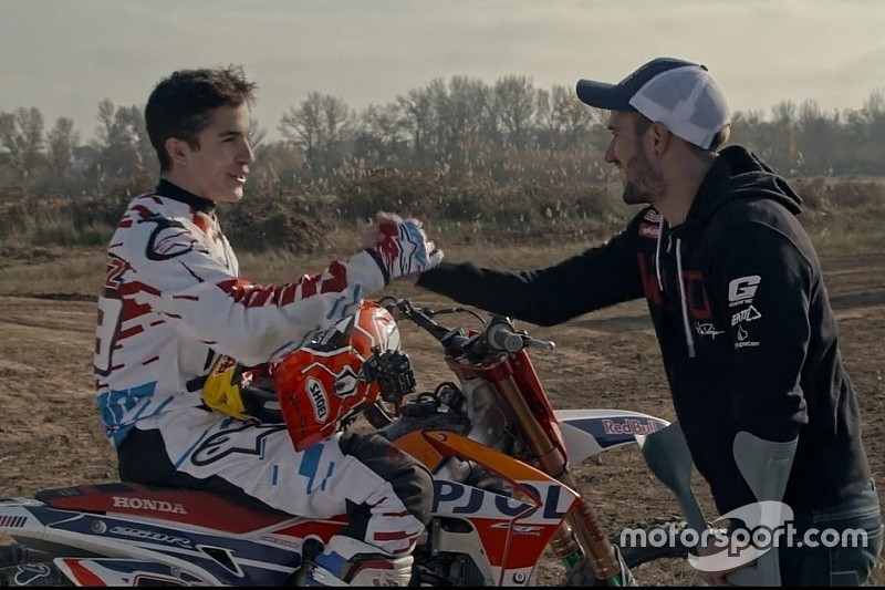 Marc Marquez pronto per i prossimi X-Fighters