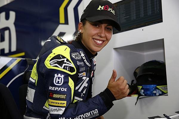 Could Maria Herrera be MotoGP's big female star?