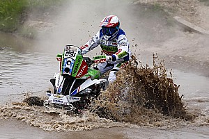 Dakar Stage report Dakar Quads, Stage 3: Baragwanath beats Casale by four seconds