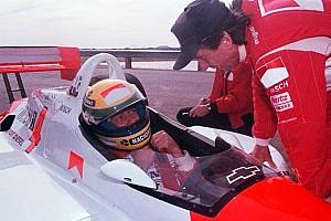 IndyCar Feature Der Tag, an dem Ayrton Senna ein Penske IndyCar testete