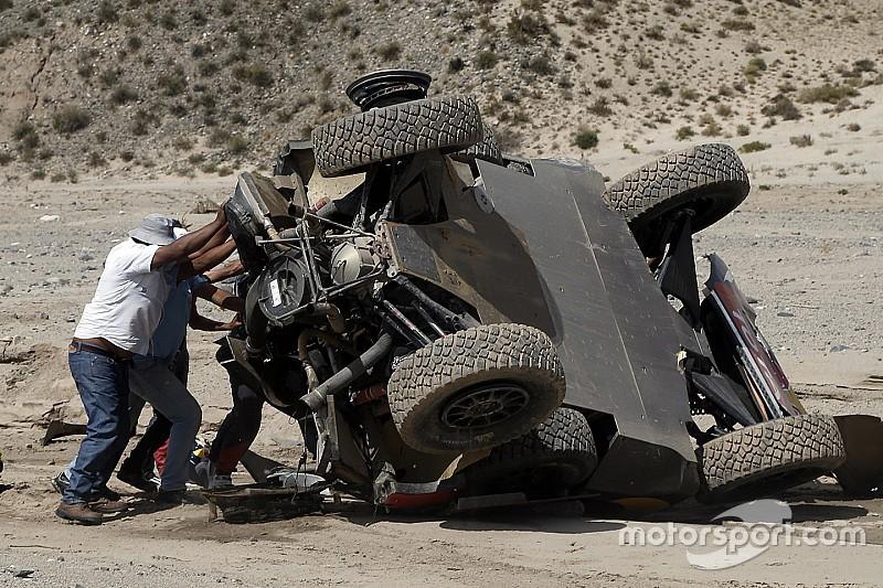Rallye Dakar: Sebastien Loeb mit Überschlag, Tagessieg für Mini