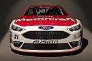Ford's nieuwe NASCAR Sprint Cup-auto lijkt sprekend op productiewagen