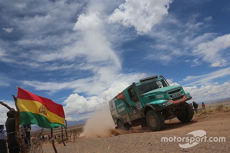 """Dakar, De Rooy: """"C'erano 60 gradi nella nostra cabina"""""""
