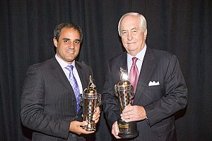 "IndyCar Breaking news Penske and Montoya receive ""Baby Borgs"" in Detroit"