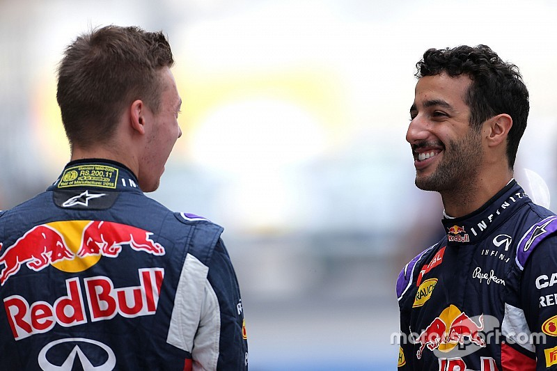 Red Bull al Paul Ricard con Ricciardo e Kvyat