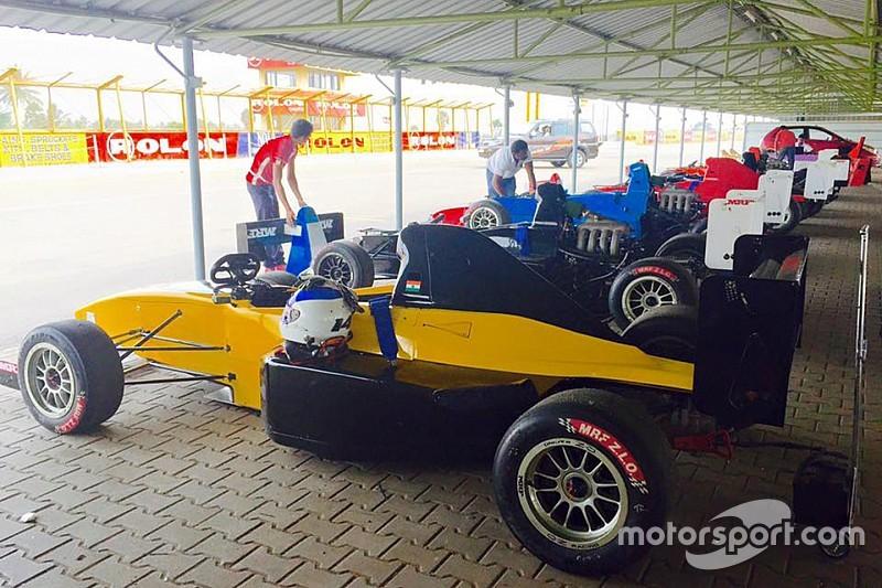 Nine drivers complete F1600 pre-season testing