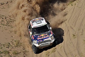 Dakar Stage report Dakar Cars, Stage 11: Al-Attiyah beats Loeb, Peterhansel still leads