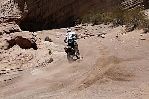 Dakar Curiosità Dakar, la 125 di Sylvain Espinasse tiene ancora botta