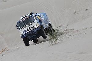 Camions - Nikolaev gagne pour l'honneur, De Rooy déroule
