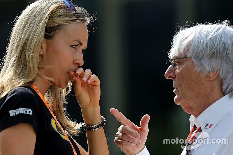 """Las mujeres """"no serían tomadas en serio"""" en la F1, Ecclestone"""