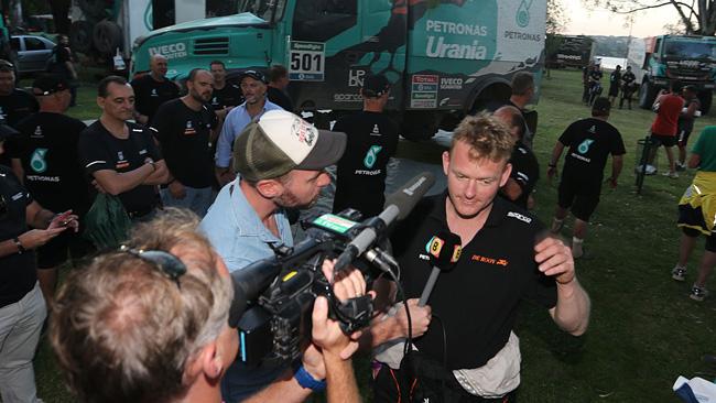 """Dakar, Camion, De Rooy: """"Abbiamo vinto sulle dune"""""""