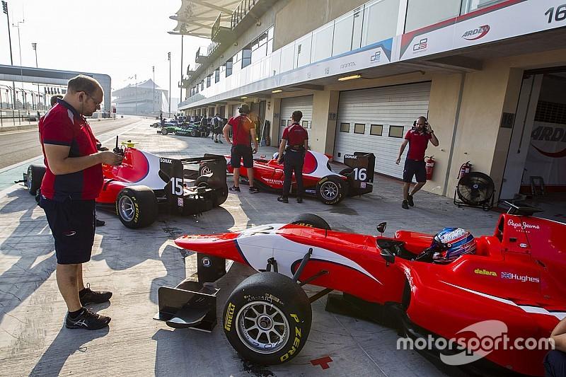 В GP3 будет четыре серии тестов