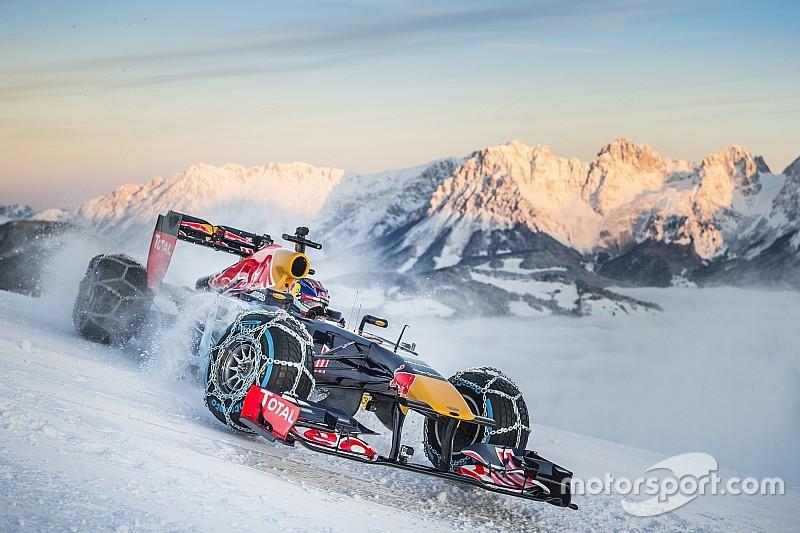 Red Bull: rischio multa per il demo run sulla neve