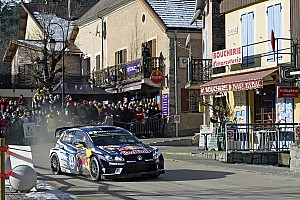 WRC Prova speciale Monte-Carlo, PS10: Mikkelsen domina sulla neve