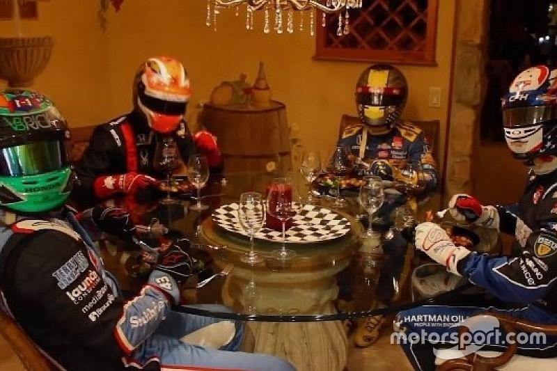 Veja o que os pilotos da Indy fazem durante as férias