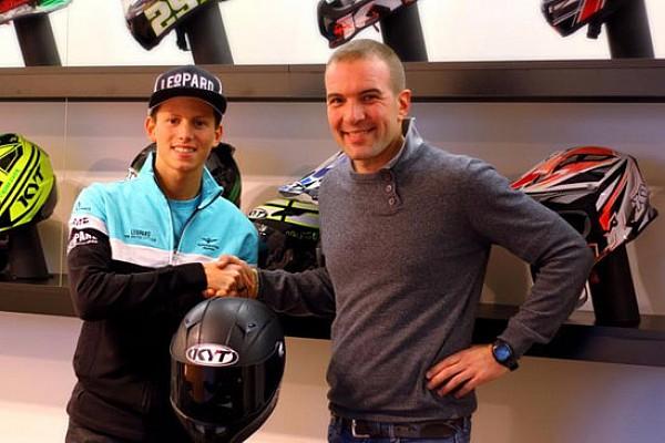 I caschi KYT sbarcano in Moto3 con Andrea Locatelli