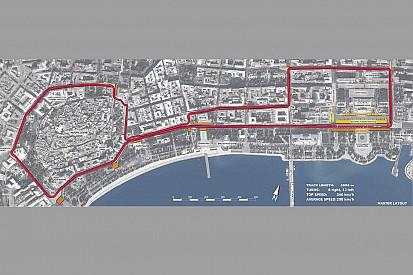 El circuito de Azerbaiyán promete ser el más estrecho de la F1
