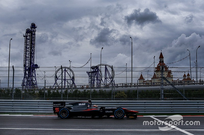 GP2, GP3 set to skip Sochi in 2016