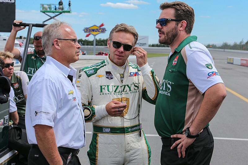 Ed Carpenter resumes sole control of team