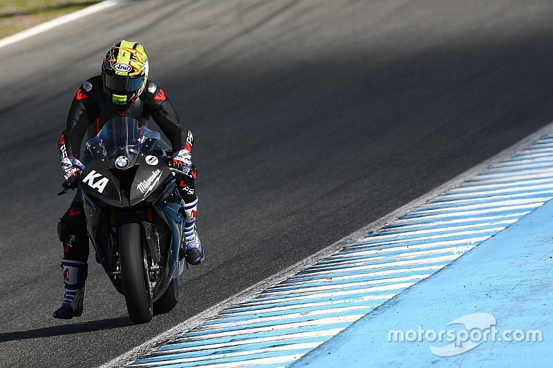 Buon debutto per il team Milwaukee BMW a Jerez