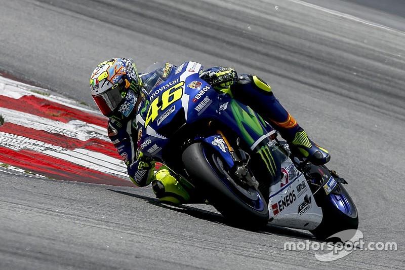 """Valentino Rossi mit veränderten Michelin-Reifen """"näher am Limit"""""""