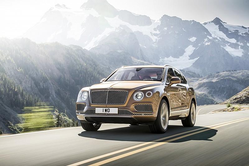 Eerste 5.000 exemplaren Bentley Bentayga nu al uitverkocht