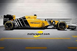 Nuestra propuesta de diseño para el Renault RS16
