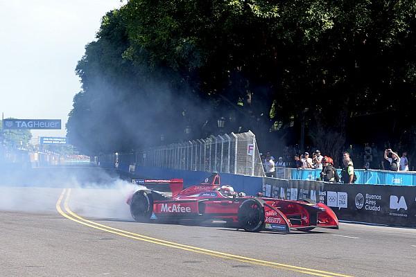 Formule E D'Ambrosio over Buenos Aires ePrix: