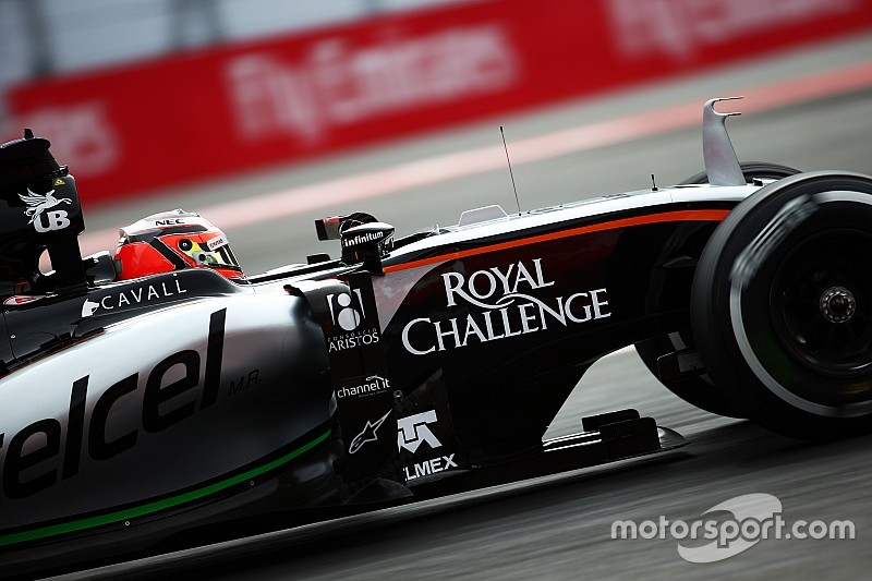 Force India to unveil new F1 car in Barcelona pitlane
