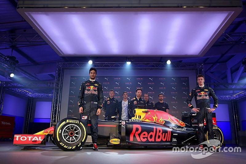 Em evento em Londres, Red Bull mostra nova pintura