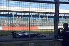 Ecco la Mercedes W07 Hybrid a Silverstone