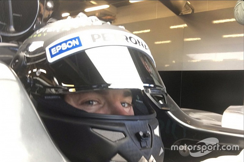 Mercedes: ecco il video on board di Rosberg sulla W07 Hybrid