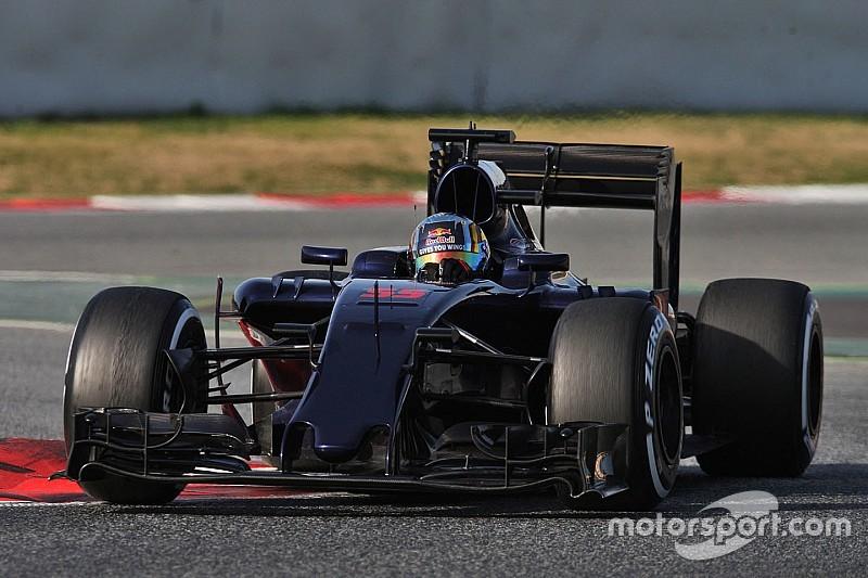 Sainz dice que el motor Ferrari es un claro paso al frente