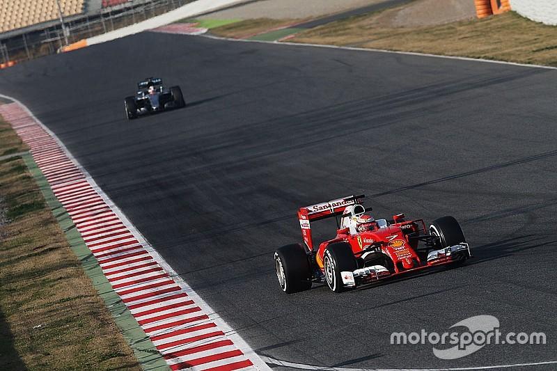 Raikkonen snelste op laatste dag, Verstappen vijfde