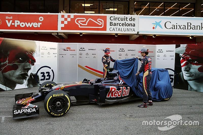 Toro Rosso zeigt neuen STR11 mit finalem Formel-1-Design für 2016