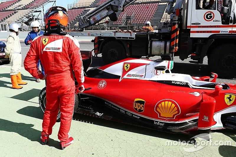 Ferrari insiste que não enfrenta problemas no motor