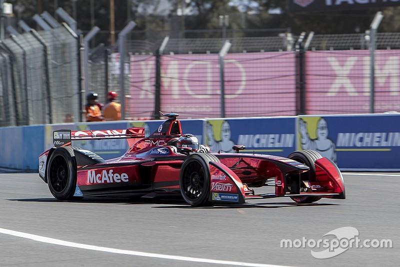 Startopstelling van de Formule E Mexico ePrix