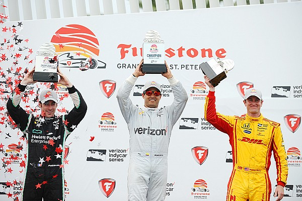 IndyCar Juan Pablo Montoya gana en San Petesburgo
