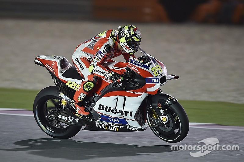 Losail, Libere 2: Iannone e la Ducati al top, Marquez risorge