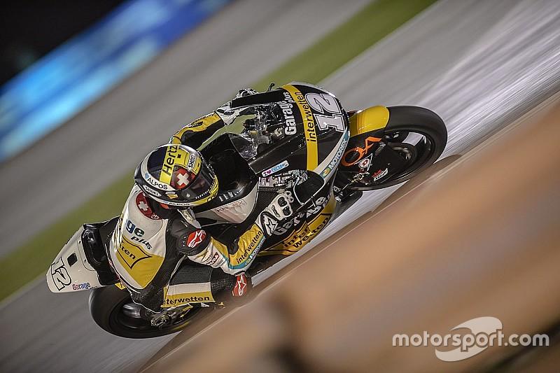 Thomas Lüthi gewinnt den Moto2-Auftakt von Katar