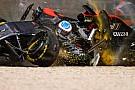 Alonso's zitje scheurde in Melbourne-crash