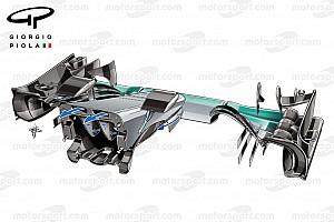 Формула 1 Аналитика Технический анализ: скрытые секреты воздуховода Mercedes