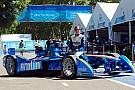 Simona de Silvestro hizo historia en la Fórmula E