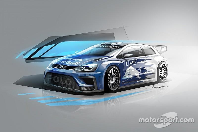 Volkswagen revela la primera imagen del Polo WRC 2017