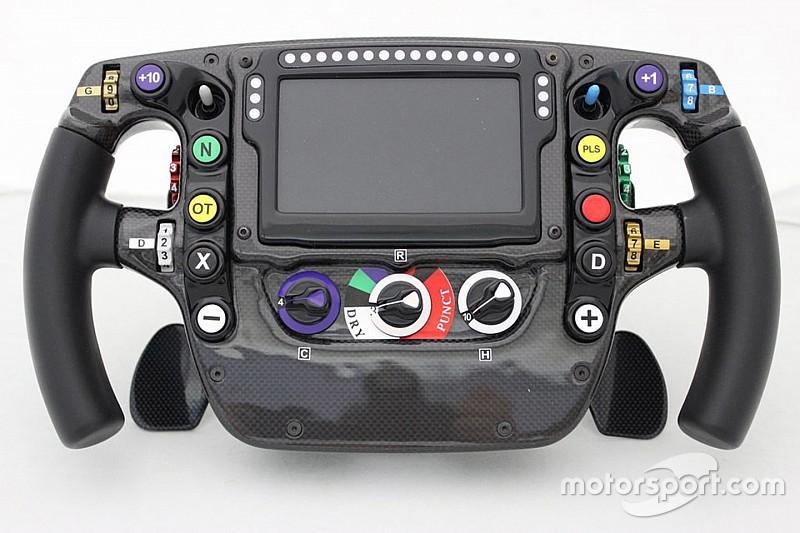 Análisis técnico F1: El volante de McLaren